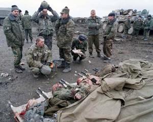 Трупы своих солдат... это тяжело эмоционально.