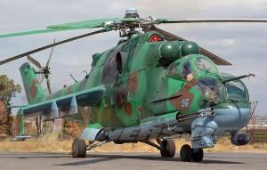 Ми-24П ВВС Армении.