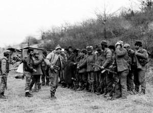 Армянское подразделение на фронте, осень 1992 г.