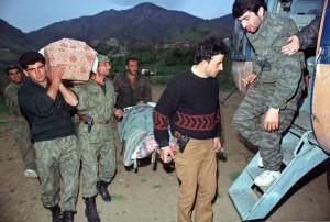 На обратном пути армянские вертолетчики чаще всего забирали с фронта «груз 200».