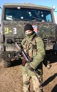 Бронированный КАМАЗ на вооружении боевиков