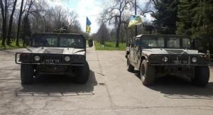 Американские «Хаммеры» все чаще можно встретить на прифронтовых дорогах Донбасса.