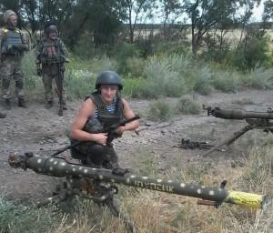 СПГ-9 на вооружении ВСУ Украины.