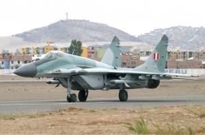 МиГ-29 ВВС Перу