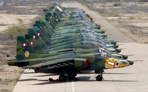 Перуанские штурмовики Су-25