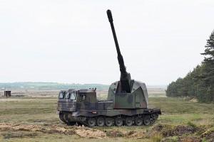 САУ розроблена німецькою компанією Krauss-Maffei Wegmann спільно з європейським підрозділом General Dynamics Land Systems