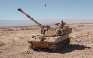 Армія США отримала 975 самохідних систем M109 A 6 Paladin плюс стільки ж допоміжних машин для транспортування боєприпасів (FAASV) M 992 A2.