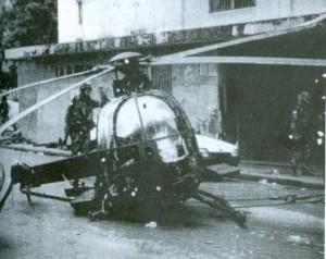 Разбившийся вертолет ВВС США