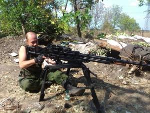12,7-мм пулемет «Корд», который активно применяется российским спецназом в ходе боев на Донбассе.