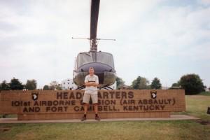 Дмитро на базі 101-ї повітряно-штурмової дивізії США