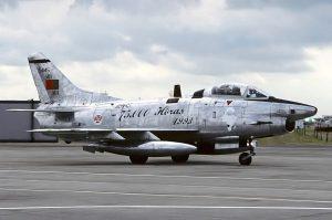 Становым хребтом португальской авиагруппировки в Мозамбике были реактивные истребители – бомбардировщики «Фиат» G.91, которые находились на вооружении двух эскадрилий.