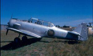 Так начинались ВВС Мозамбика – «Тексан», брошенный колонизаторами при эвакуации из бывшей колонии.