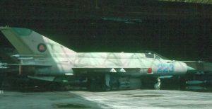 После 1989 года состояние мозамбикских МиГ-21 с каждым годом только ухудшалось. Только в середине 2000-х годов появились сообщения об их капитальном ремонте в Румынии.