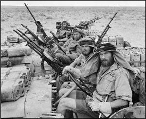 Британские коммандос в Северной Африке.