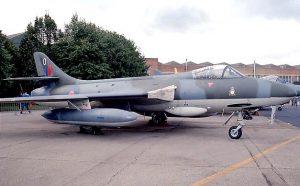 «Хантер» FGA.9 ВВС Родезии.