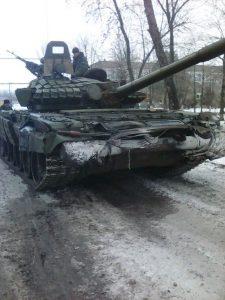 Захваченный в Еленовке Т-72 стал единственным танком ВСУ этого типа, попавшим в руки боевиков
